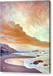 San Simeon Beach Acrylic Print