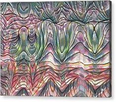 Folds Acrylic Print