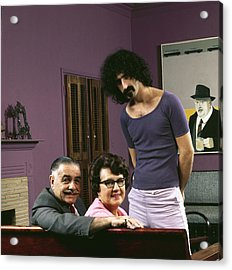 Frank Zappa & His Parents Acrylic Print