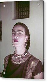 Frida Kahlo Acrylic Print by Michael Ochs Archives