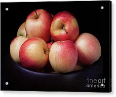 Acrylic Print featuring the photograph Gala Apples by Ann Jacobson