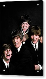 George Harrisonringo Starrjohn Acrylic Print by John Dominis
