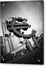 Germany, Hesse, Frankfurt, View Of Acrylic Print by Westend61