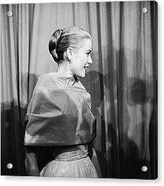 Grace Kelly Acrylic Print by Michael Ochs Archives