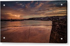 Harbour Sunset - St Ives Cornwall Acrylic Print