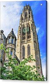 Harkness Tower, Yale University, New Acrylic Print