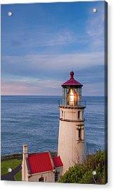 Heceta Head Lighthouse Acrylic Print by Andrew Soundarajan