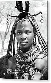 Himba Girl Acrylic Print