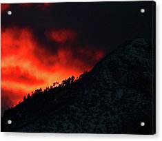Huachuca Mountains Acrylic Print