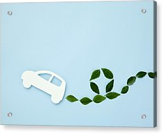 Image Of Eco Car Acrylic Print by Imagenavi