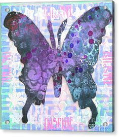 Inspire Butterfly Acrylic Print