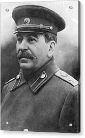 Joseph Stalin Acrylic Print by Keystone