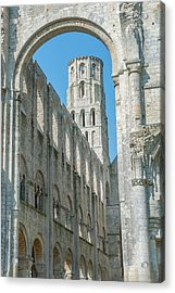 Jumieges Abbey, Jumieges, Normandy Acrylic Print by Lisa S. Engelbrecht