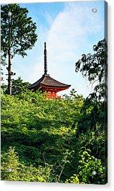 Kyoto, Japan Taisan-ji Temple Nearby Acrylic Print by Miva Stock