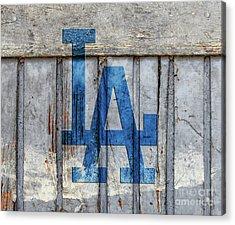 La Dodgers Acrylic Print