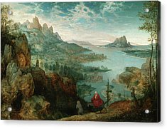 Landscape With The Flight Into Egypt Acrylic Print