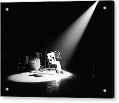 Led Zeppelin Performs In 1972 Acrylic Print by Michael Ochs Archives