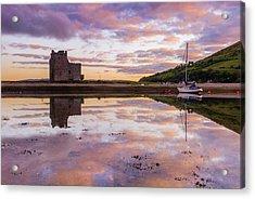 Lochranza Castle, Arran Acrylic Print by David Ross
