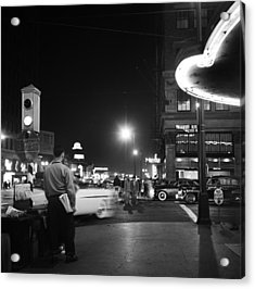 Los Angeles In The 1950s Acrylic Print by Michael Ochs Archives