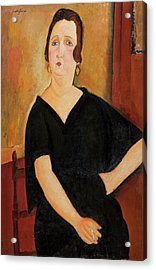 Madame Amedee - Woman With Cigarette Acrylic Print
