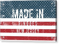 Made In Ringoes, New Jersey Acrylic Print