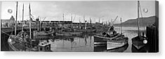 Mallaig Harbour Acrylic Print by Alfred Hind Robinson