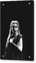 Maria Callas Acrylic Print by Gordon Parks