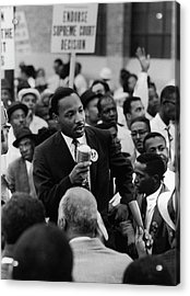 Martin Luther King Jr Acrylic Print by Francis Miller