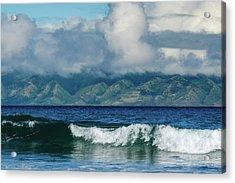 Maui Breakers Acrylic Print