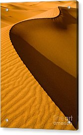 Mesquite Flat Dunes At Death Vakkey Acrylic Print