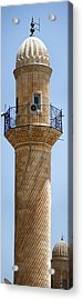 Minaret Of Ulu Cami Mosque Acrylic Print