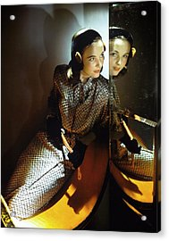 Model In B.h. Wragge Acrylic Print by Horst P. Horst