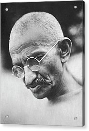Mohandas K. Gandhi Acrylic Print