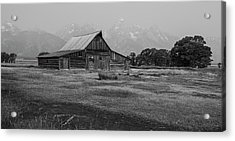 Mormon Barn Acrylic Print