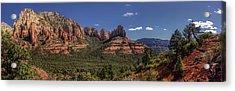 Mormon Canyon Panorama Acrylic Print