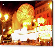 Moulin Rouge Acrylic Print
