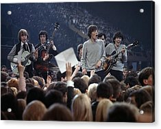 Music. 1964. London. The Rock Band The Acrylic Print by Popperfoto