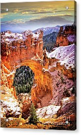 Acrylic Print featuring the photograph Natural Bridge by Scott Kemper