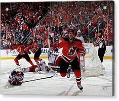 New York Rangers V New Jersey Devils - Acrylic Print