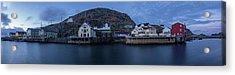Norwegian Seaside Town Nyksund Acrylic Print