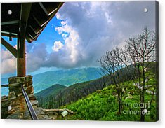Acrylic Print featuring the photograph Observation Tower View by Tom Claud