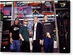 Offspring Chicago 1994 Acrylic Print by Martyn Goodacre