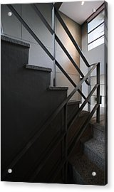 Open Stairwell In A Modern Building Acrylic Print
