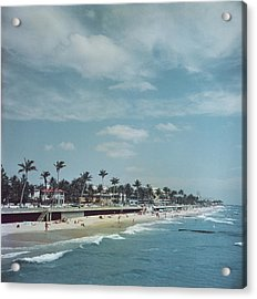 Palm Beach Acrylic Print