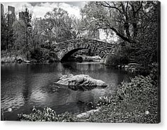 Park Bridge Acrylic Print