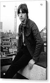 Paul Weller At Air Studios Acrylic Print