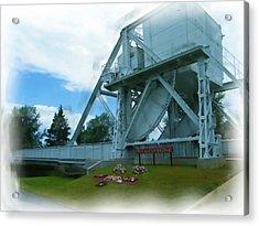 Pegasus Bridge Acrylic Print