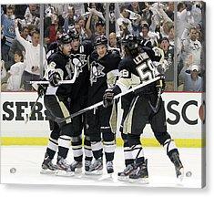 Philadelphia Flyers V Pittsburgh Acrylic Print