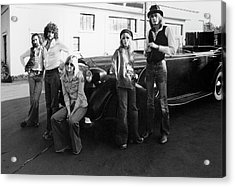 Photo Of Fleetwood Mac Acrylic Print by Fin Costello