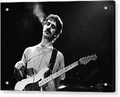 Photo Of Frank Zappa Acrylic Print by Paul Bergen